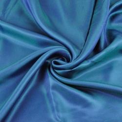 Podszewka dwustronna niebiesko zielona