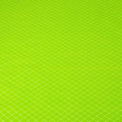 romby białe na zielonym tle