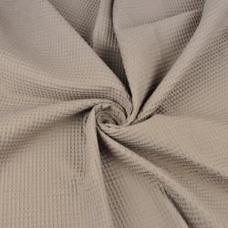 Imagén: Wafel bawełniany beżowo szary
