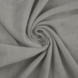Len z wiskozą ubraniowy - szary (Gray dawn)