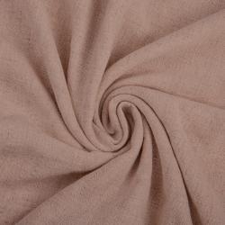 Len z wiskozą ubraniowy - brudny róż (Adobe rose)