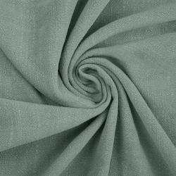 Len z wiskozą ubraniowy - szałwia