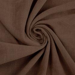 Len z wiskozą ubraniowy - brązowy (Brownie)