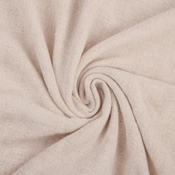 Len z wiskozą ubraniowy - beżowo różowy (Crystal Gray)