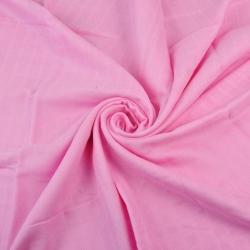 Tkanina Muślin bawełniany różowy