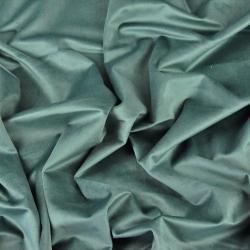 Aksamit zasłonowy - szara zieleń