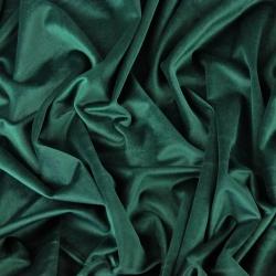 Aksamit zasłonowy - królewska zieleń