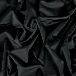 Aksamit zasłonowy - wykwintna czerń