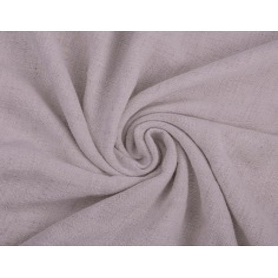 Len z wiskozą ubraniowy - brudna lawenda (Cloud gray)