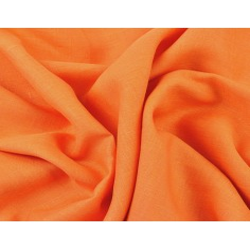 Len odzieżowy pomarańczowy - 125g