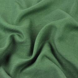 Len 100% odzieżowo - pościelowy zielony - 185g