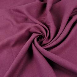 Len 100% odzieżowo - pościelowy - różowe winogrono - 185g