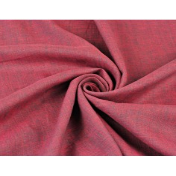 Len 100% odzieżowo - pościelowy różowo szary melanż - 185g
