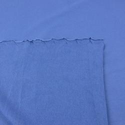 Dresówka z pętelką - jednokolorowa ciemny niebieski - 280g