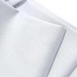 Tkanina obrusowa plamoodporna biała - 270cm