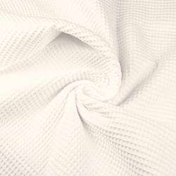 Tkanina Wafel bawełniany ecru