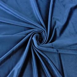 Aksamit zasłonowy - oxford blue