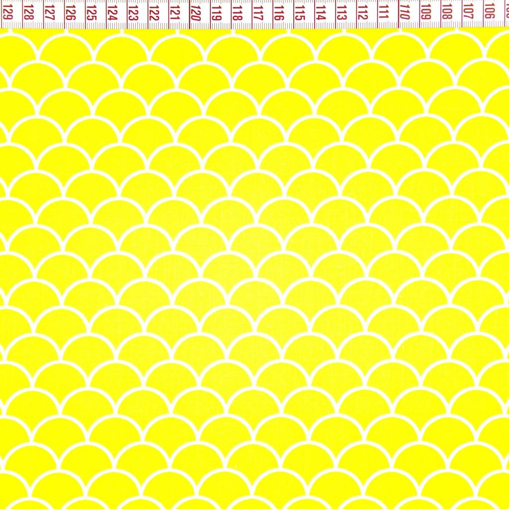 Tkanina w łuski żółte tło