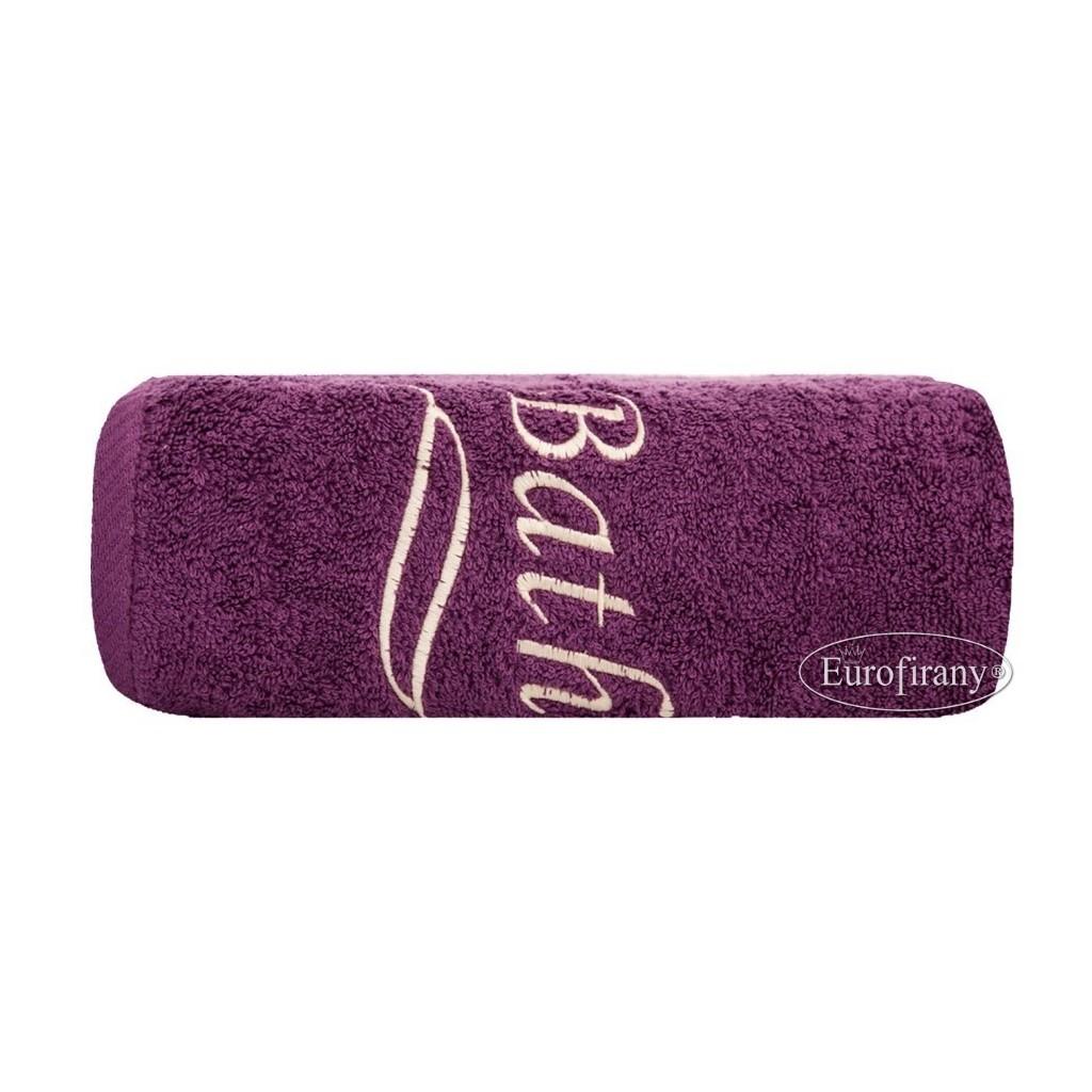 Ręcznik Bath 50x90 śliwka