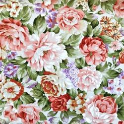Bawełna kwiaty 28 CANVAS