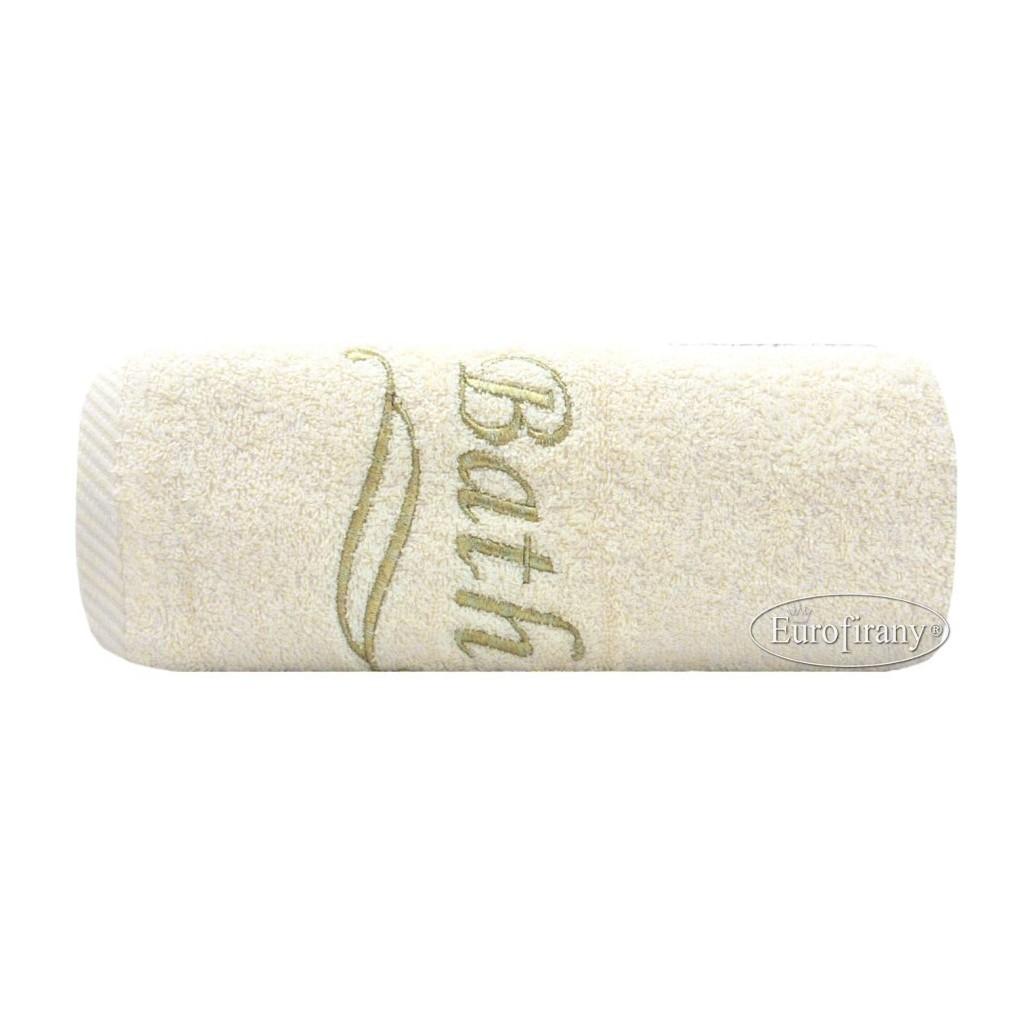 Ręcznik Bath 70x140 kremowy