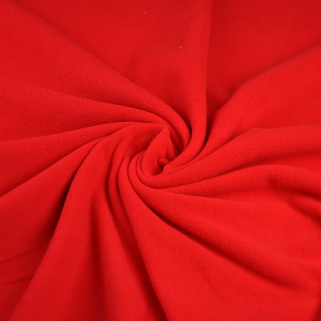Tkanina Polar Premium czerwony