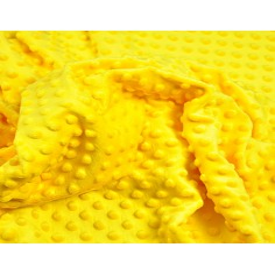 Materiał Minky Premium żółty