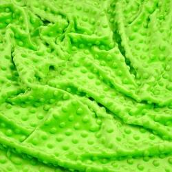 Materiał Minky Premium Jasny zielony