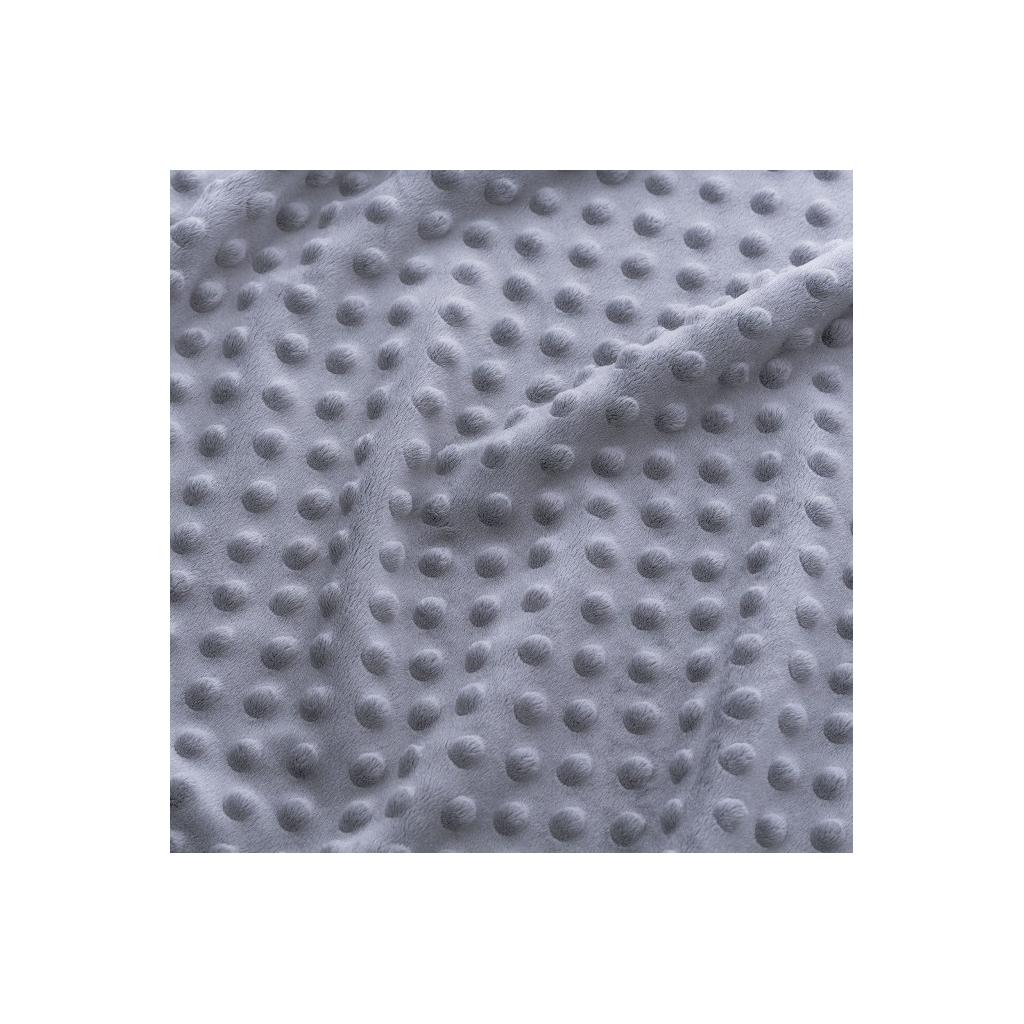 Materiał Minky Premium cienkie - szary