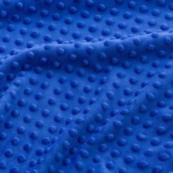 Materiał Minky Premium cienkie szafirowy