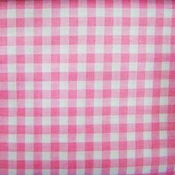 Tkanina kratka różowo biała