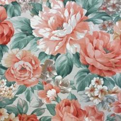Tkanina Zasłonowa kwiaty 17 CANVAS