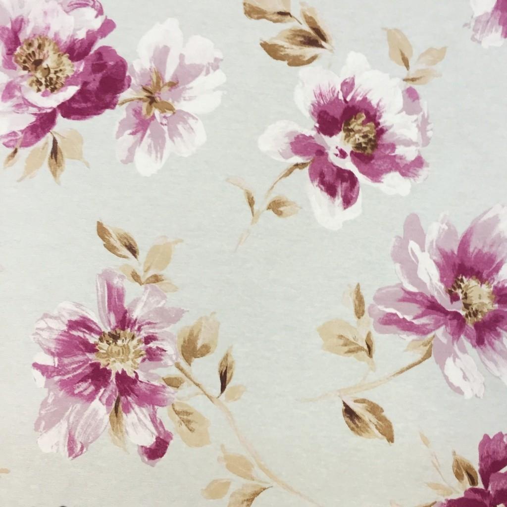 Tkanina Zasłonowa kwiaty 18 CANVAS