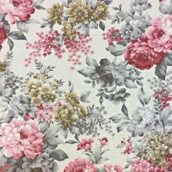 Tkanina Zasłonowa kwiaty 19 CANVAS