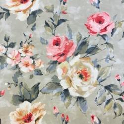 Tkanina Zasłonowa kwiaty 22 CANVAS
