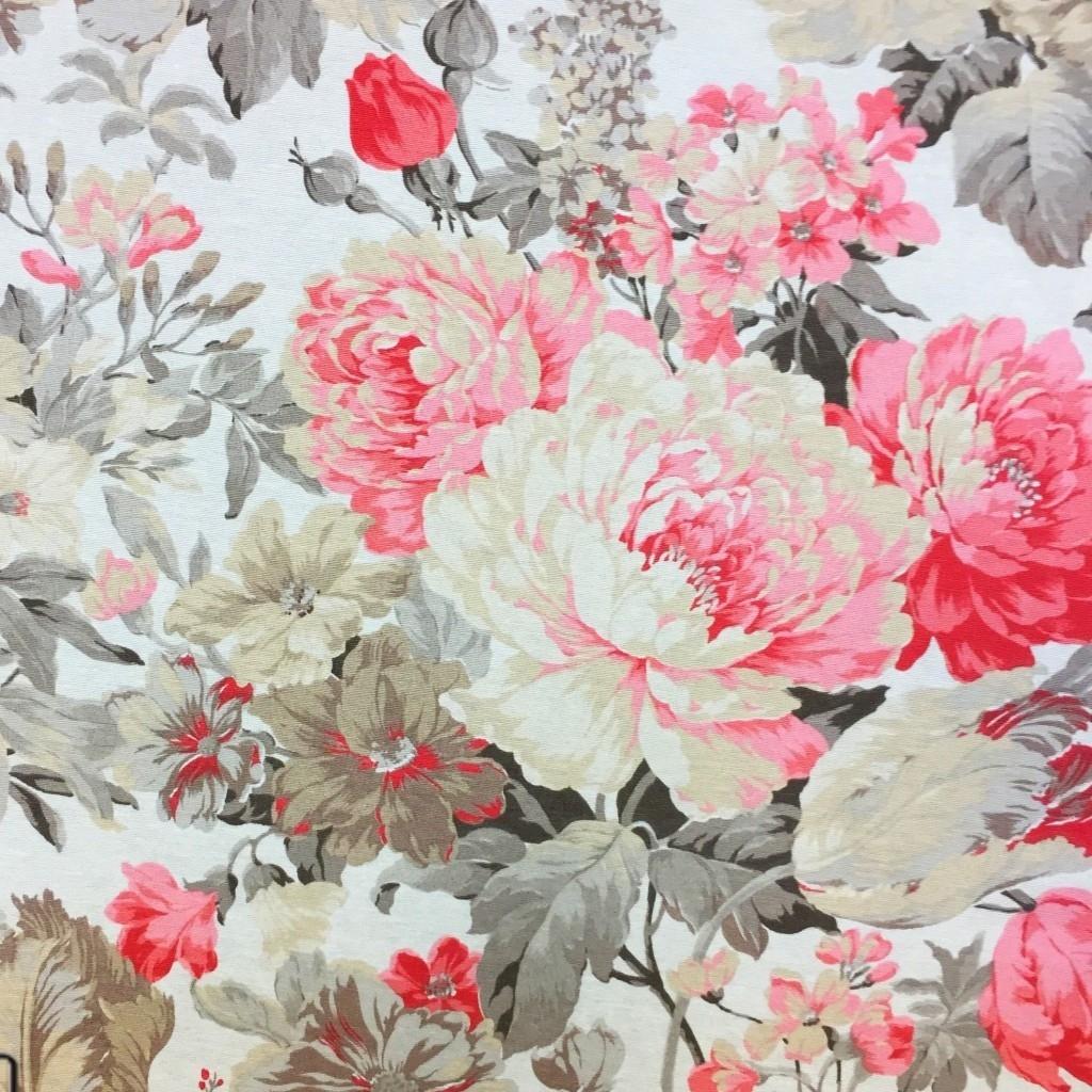 Tkanina Zasłonowa kwiaty 23 CANVAS