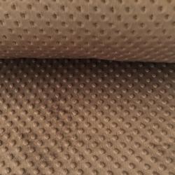 Imagén: Materiał Minky brązowy 24