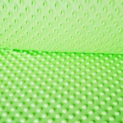 Imagén: Materiał Minky zielone jabłuszko 26