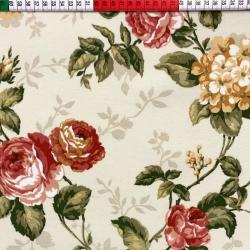 Tkanina Zasłonowa kwiaty 27 CANVAS