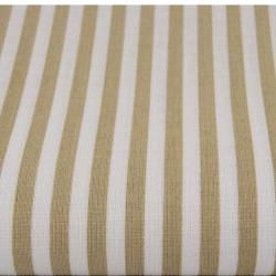 Tkanina w paski beżowe białe