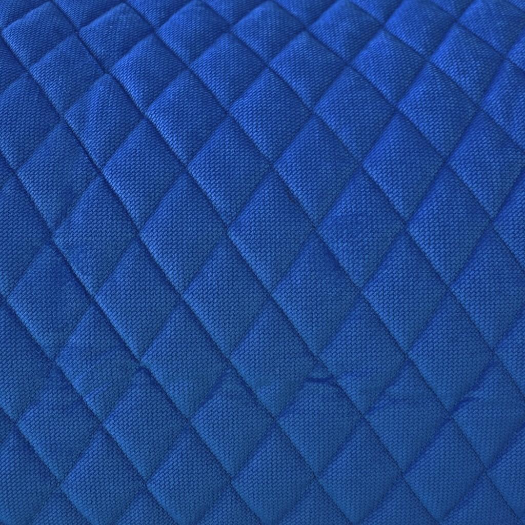 Velvet pikowany szafirowy - romby