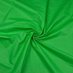 Tkanina gładka zielona trawiasta