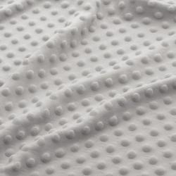 Materiał Minky Grube 380gm/2 jasno szary