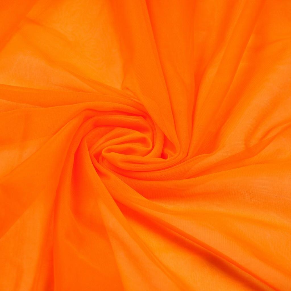 Szyfon Dekoracyjny pomarańczowy