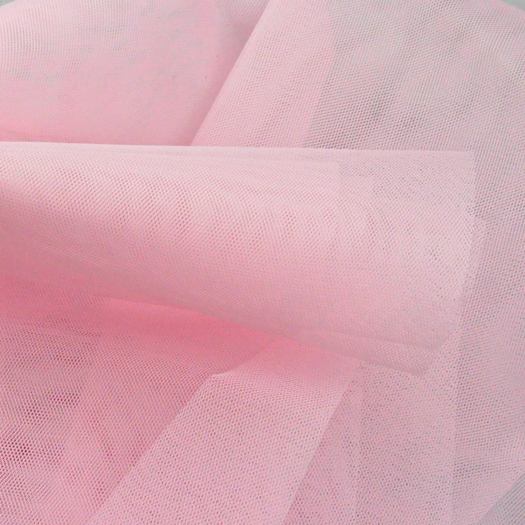 Tiul Dekoracyjny jasny różowy