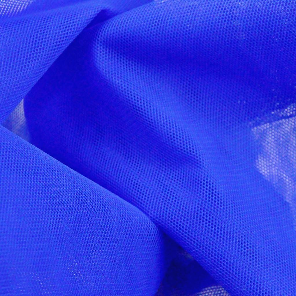 Tiul Dekoracyjny szafirowy
