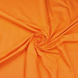 Tkanina gładka pomarańczowa 14