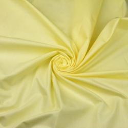 Tkanina gładka jasny żółty