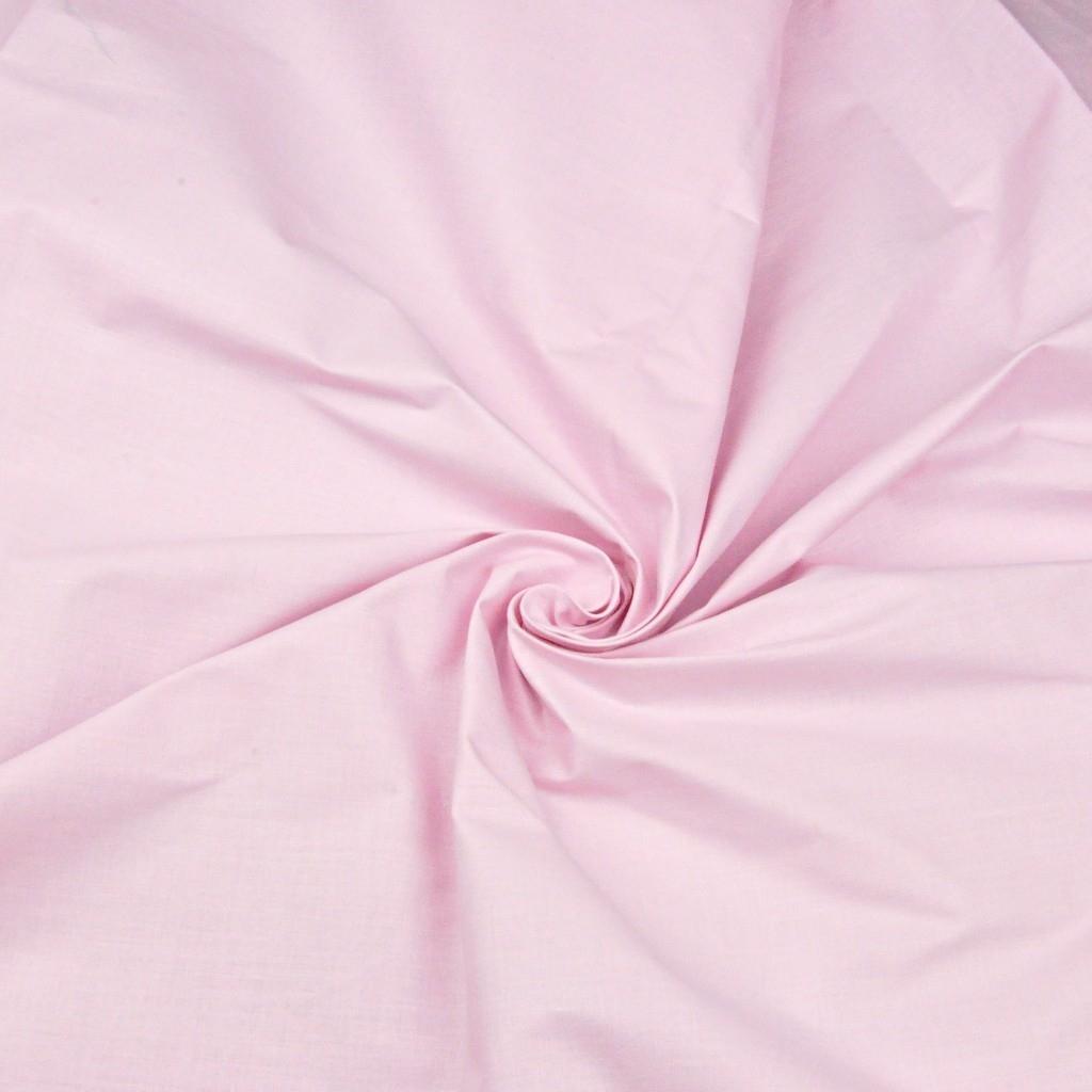 Tkanina gładka jasno różowa 7