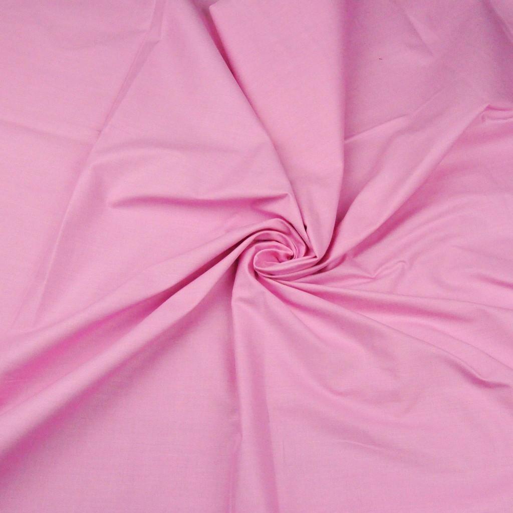 Tkanina gładka różowa